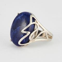 Кольцо содалит Бразилия (серебро 925 пр.) размер 19