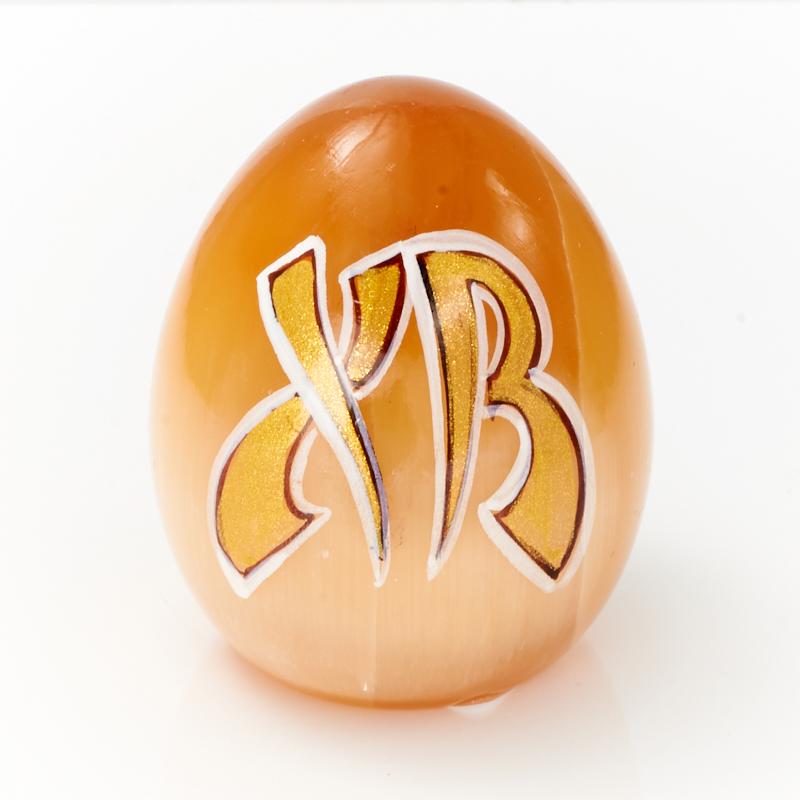 Яйцо селенит  5 см
