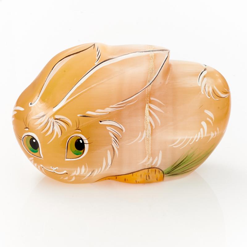 Заяц Кузьма селенит  10 см цены онлайн