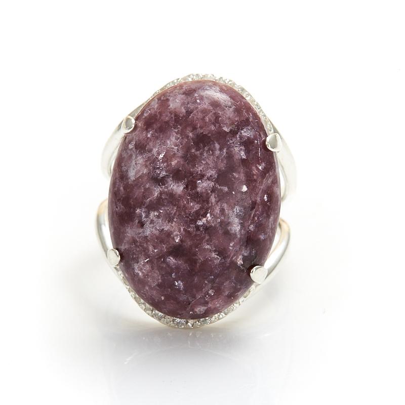 Кольцо лепидолит  (серебро 925 пр.) размер 17,5 от Mineralmarket