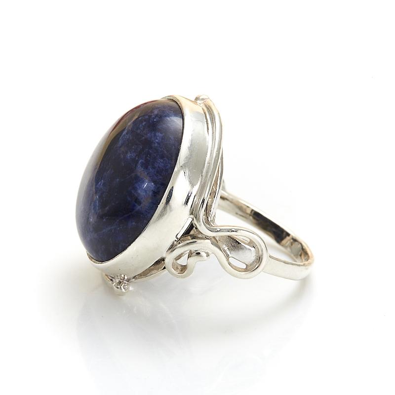 Кольцо содалит Бразилия (серебро 925 пр.) размер 19,5