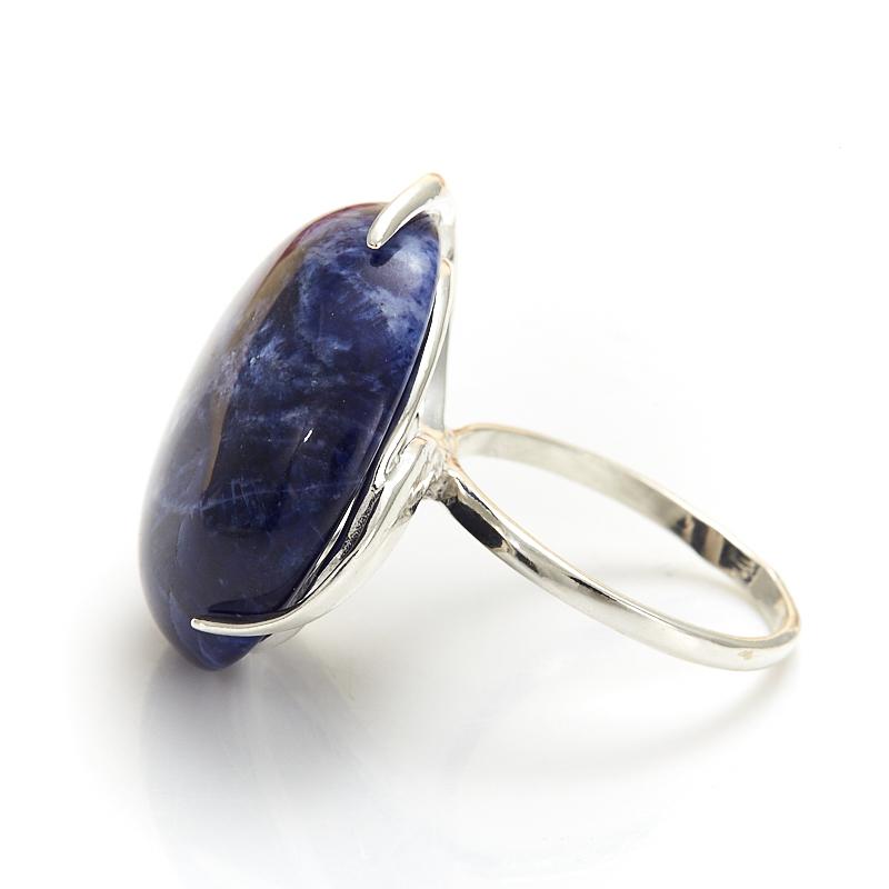 Кольцо содалит Бразилия (серебро 925 пр.) размер 22,5