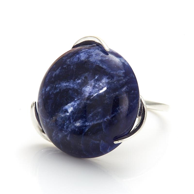 Кольцо содалит Бразилия (серебро 925 пр.) размер 23