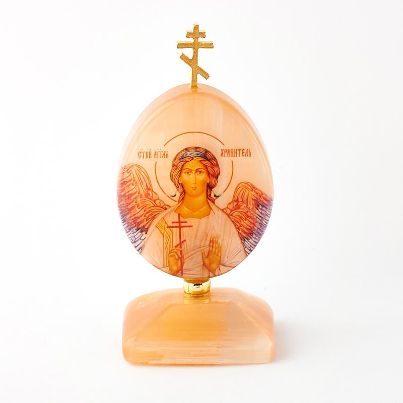 Пасхальное изображение Ангел-хранитель селенит 9 см