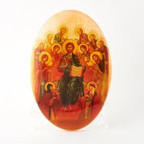 Миниатюра на подставке 12 апостолов селенит Россия 10 см