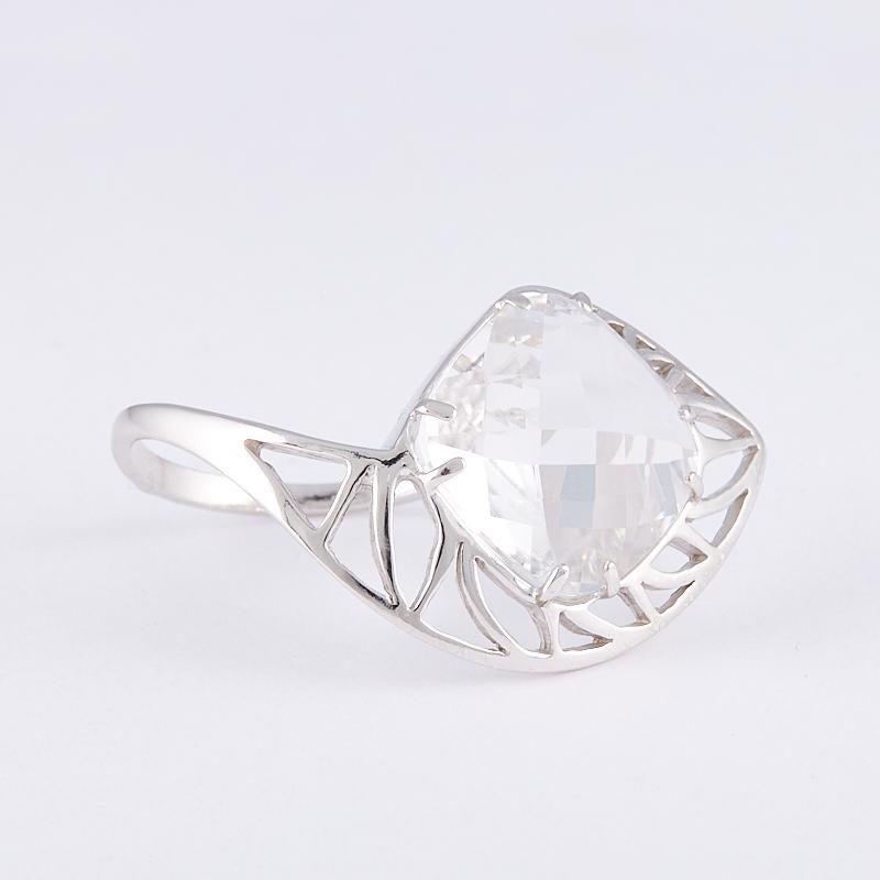Кольцо горный хрусталь огранка (серебро 925 пр.) размер 19,5 жен стерлинговое серебро хрусталь стразы кольца для пар кольцо круглый бижутерия любовь свадьба серебряный кольцо назначение