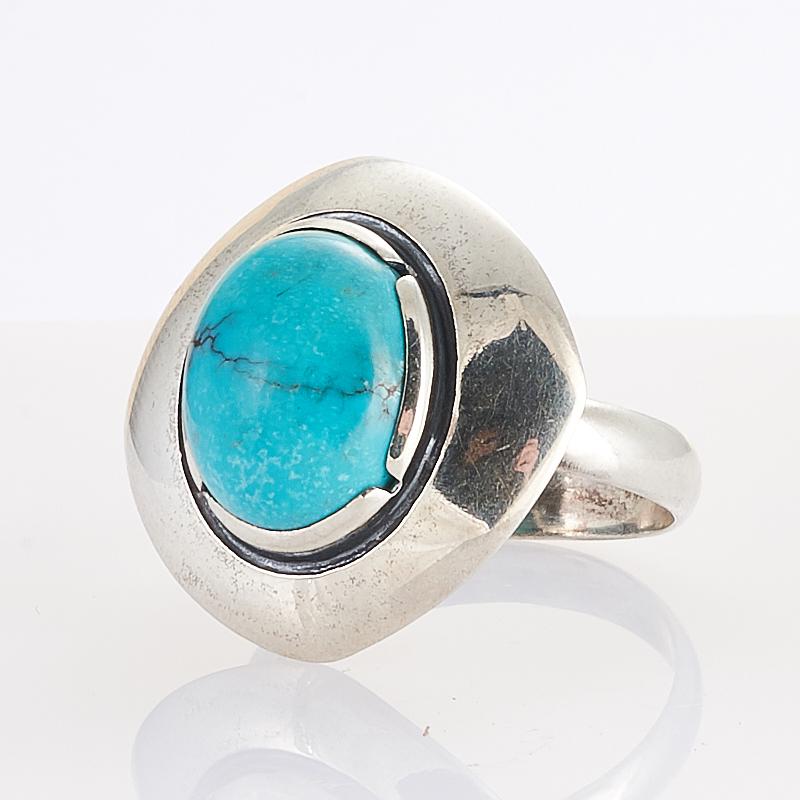 Кольцо бирюза  (серебро 925 пр.) размер 16,5
