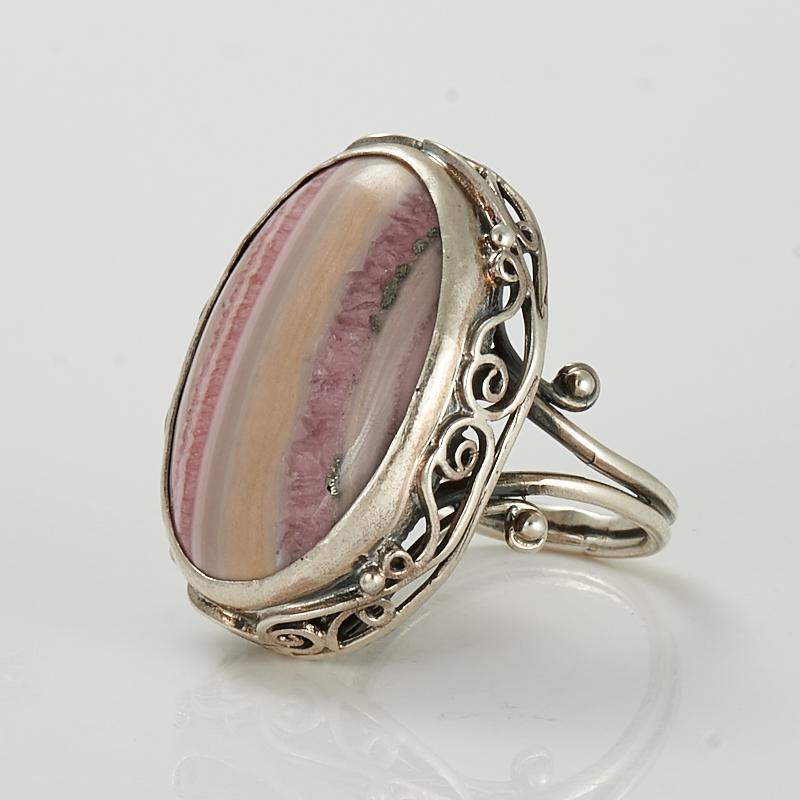 Кольцо родохрозит (серебро 925 пр.) размер 17 кольцо родонит серебро 925 пр размер 17