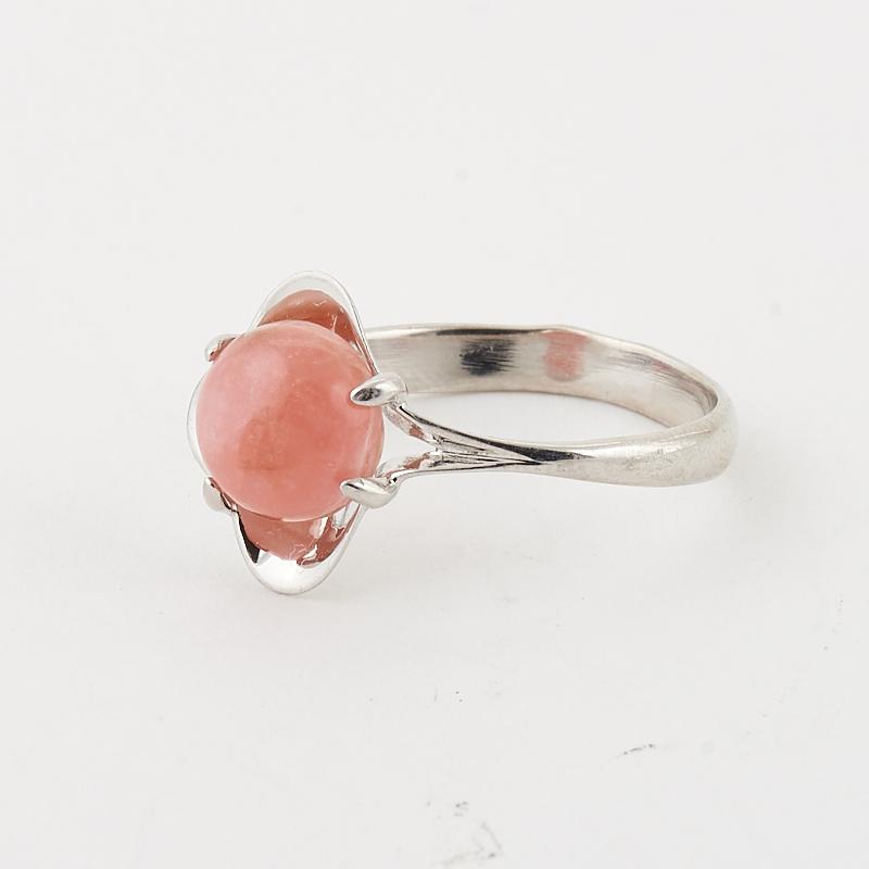 Кольцо родохрозит  (серебро 925 пр.) размер 17,5
