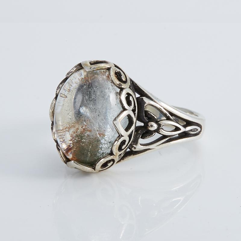 Кольцо кварц  (серебро 925 пр.) размер 18