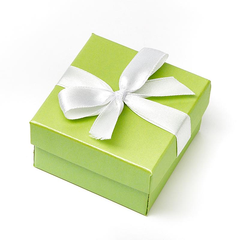 Подарочная упаковка под комплект (серьги, кольцо, кулон) 55х55х30 мм