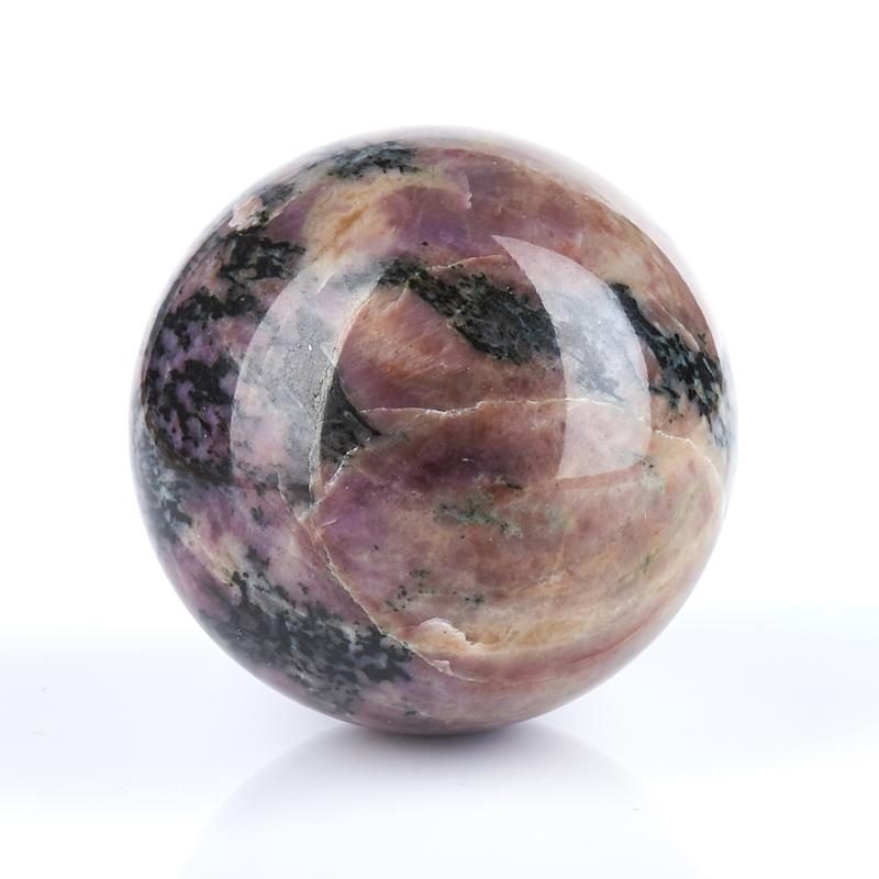 Шар катаранскит (сиреневит)  5 см