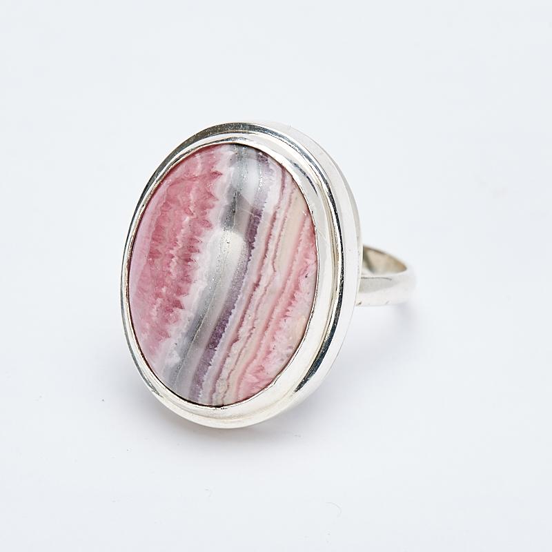 Кольцо родохрозит  (серебро 925 пр.) размер 18 кольцо авантюрин зеленый серебро 925 пр размер 18