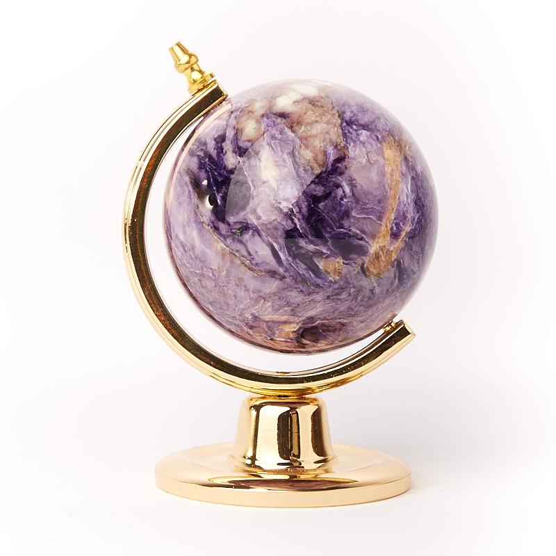 Глобус чароит Россия 8,5 см