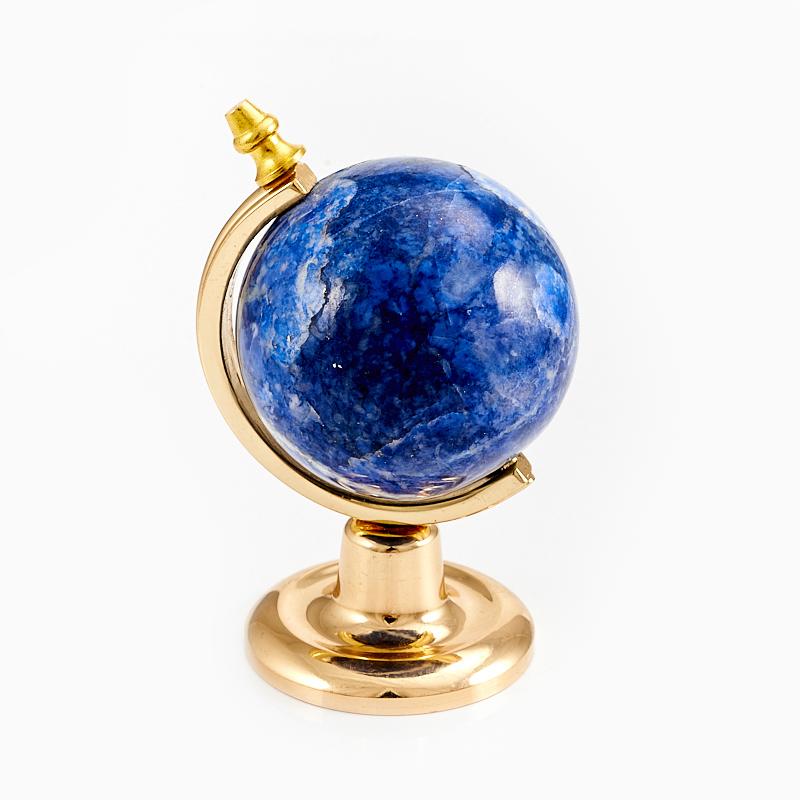 Глобус лазурит Россия 7,5 см