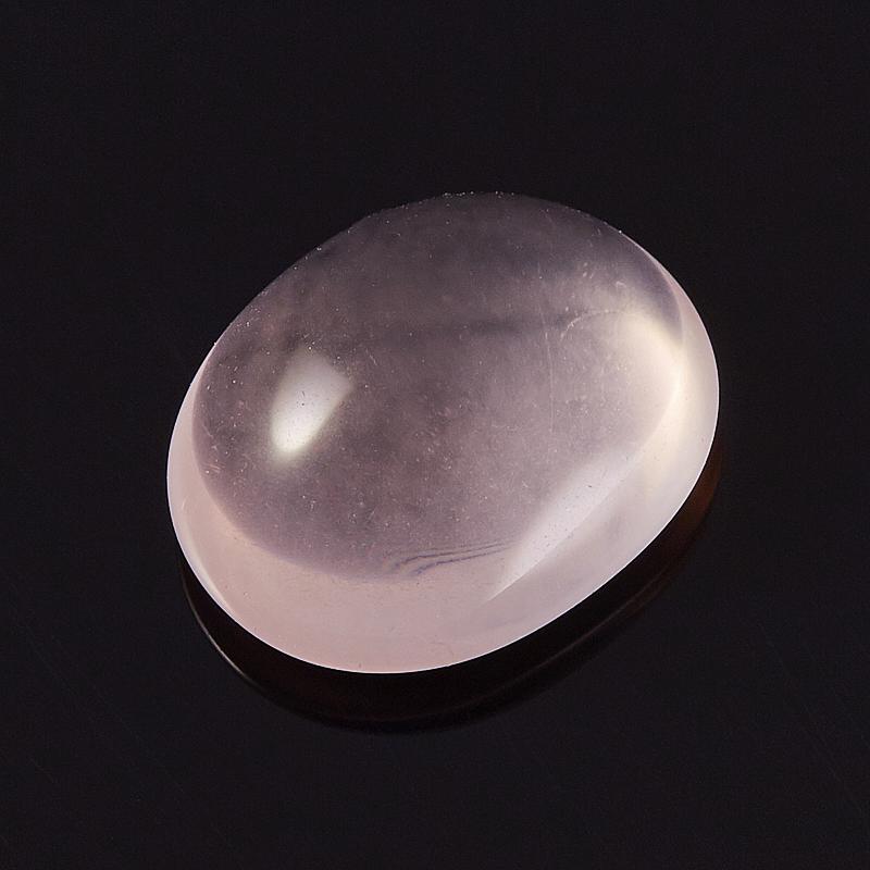 Кабошон розовый кварц  11*13,5 мм