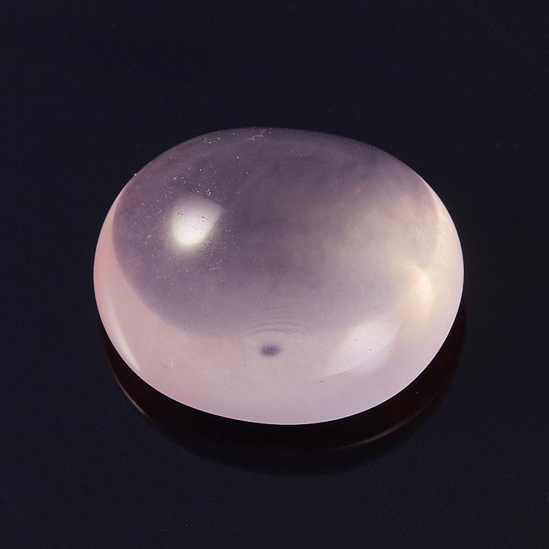 Кабошон розовый кварц  14,5*16,5 мм