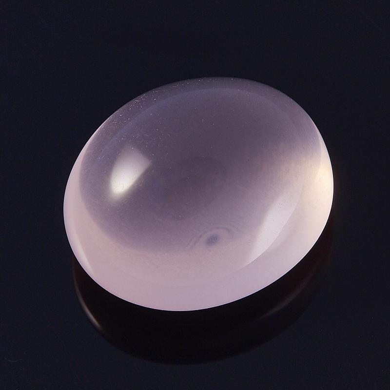 Кабошон розовый кварц  18*21 мм