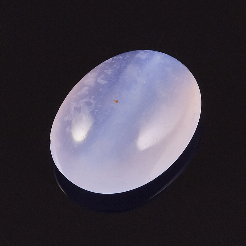 Кабошон агат голубой  10*13,5 мм