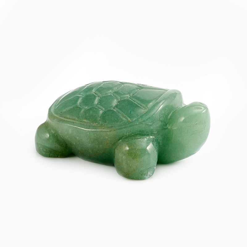 Черепаха авантюрин зеленый 5 см