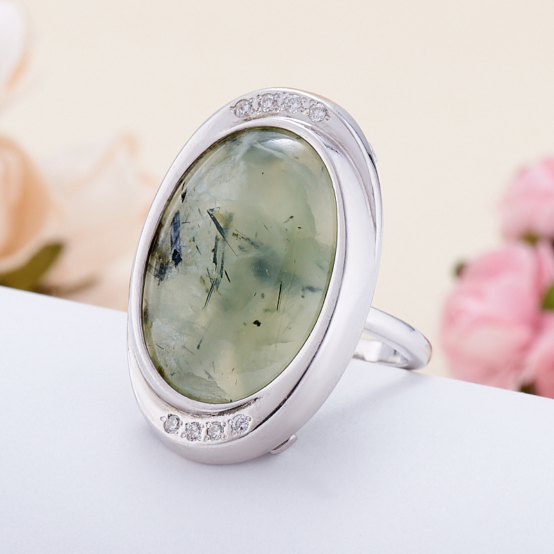 Кольцо пренит  (серебро 925 пр.) размер 20