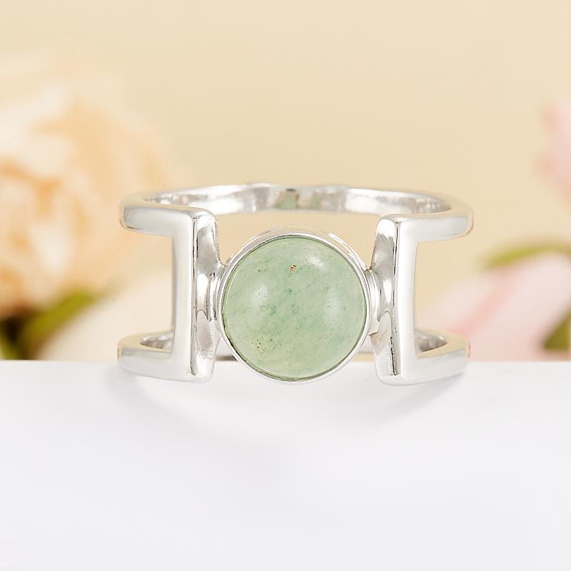 Кольцо авантюрин зеленый  (серебро 925 пр.) размер 18 кольцо авантюрин зеленый серебро 925 пр размер 18