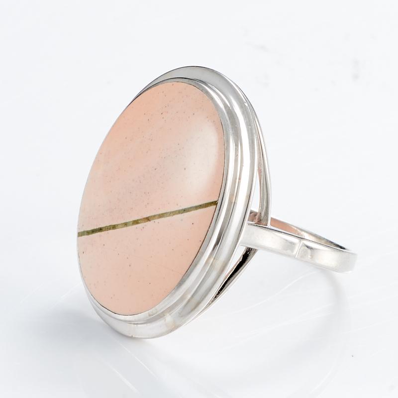 Кольцо яшма  (серебро 925 пр.) размер 18,5