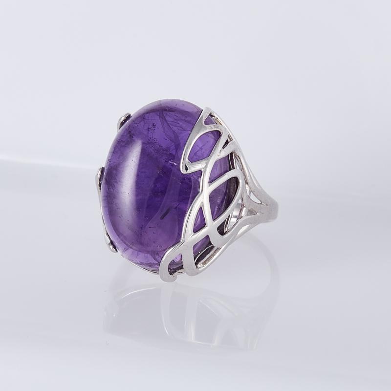 Кольцо аметист (серебро 925 пр.) размер 17,5