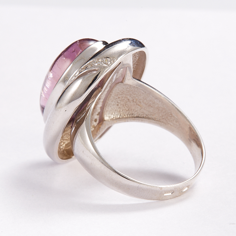 Кольцо аметрин Бразилия (серебро 925 пр.) размер 14,5
