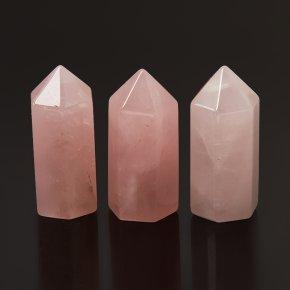 Кристалл розовый кварц Бразилия (ограненный) XS (3-4 см) (1 шт)