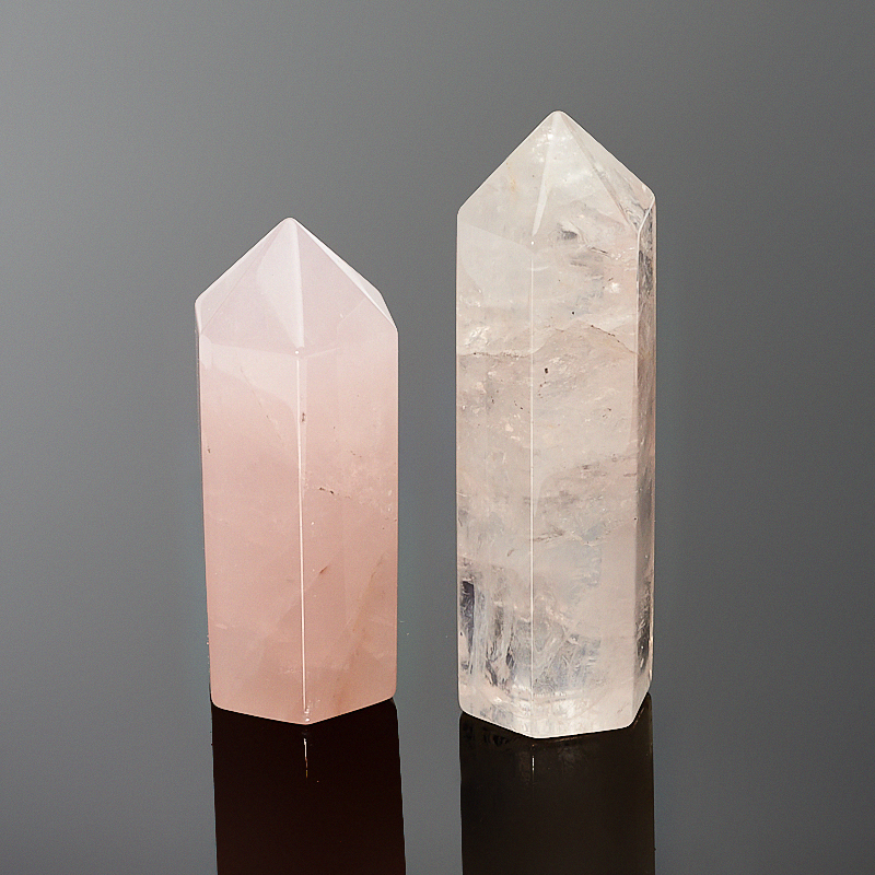 Кристалл розовый кварц (4-5 см) 1 шт ки юань суд браслеты лисица лисицы розовый кварц розовый кристалл браслеты