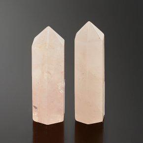 Кристалл розовый кварц Бразилия 5,5-6 см