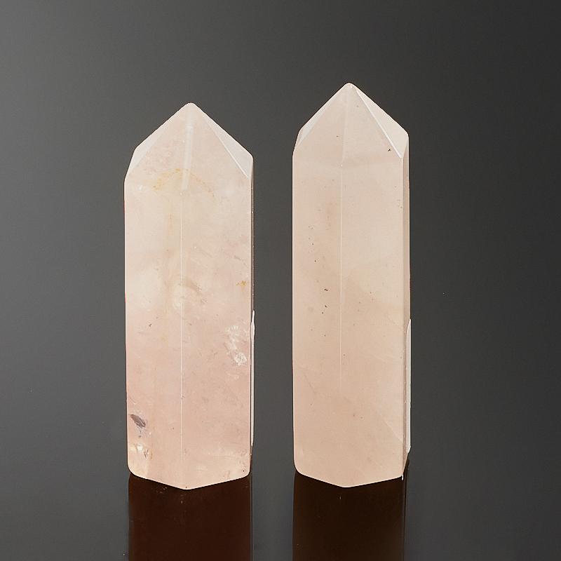 Кристалл розовый кварц  5,5-6 см (1 шт)