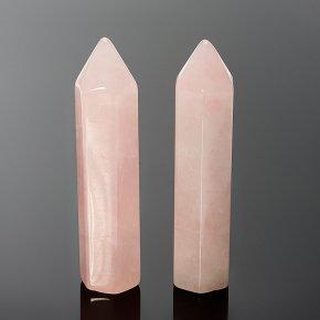 Кристалл розовый кварц Бразилия 6 см