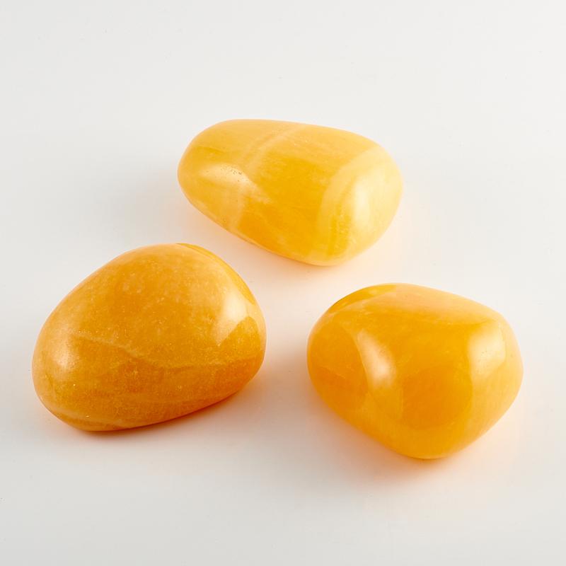 Галтовка Кальцит желтый Китай (6-7 см) 1 шт