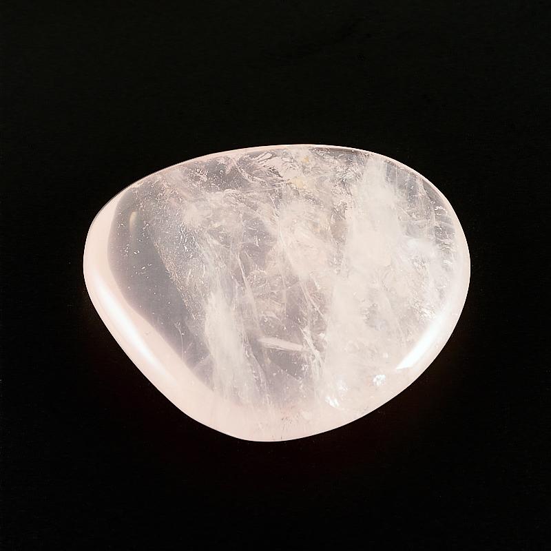 Галтовка розовый кварц прозрачный Намибия (3,5-4 см) 1 шт