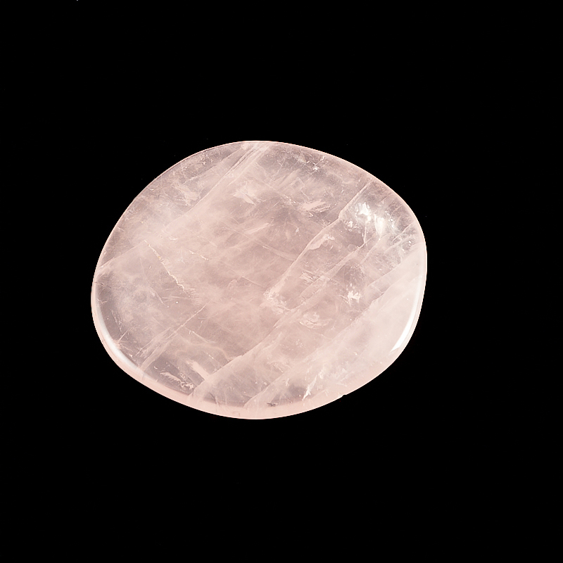 Розовый кварц прозрачный (4,5-5 см) 1 шт бутыль для молока remmy home цвет розовый прозрачный 1 л