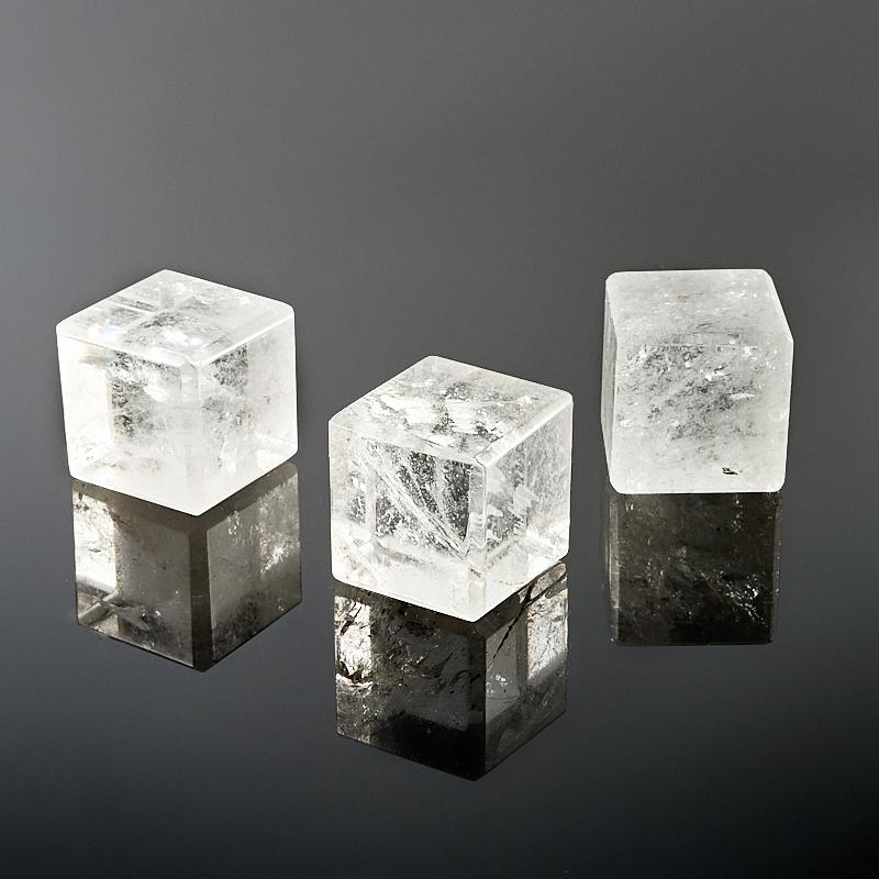 Куб горный хрусталь 3 см (1 шт) куб горный хрусталь 3 см 1 шт