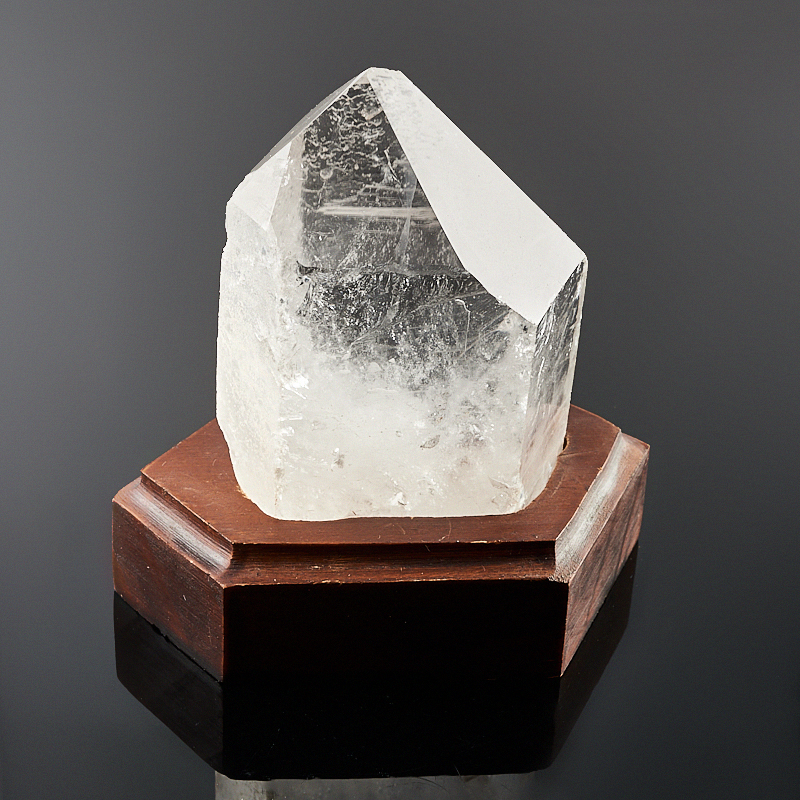 Кристалл горный хрусталь на подставке  S кристалл горный хрусталь s