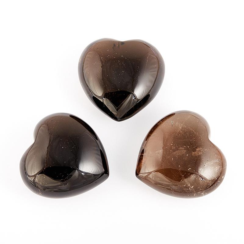 Сердечко раухтопаз  3,5-4 см
