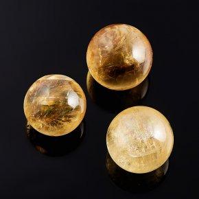 Шар кальцит желтый 2,5 см