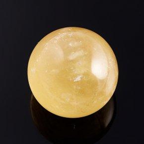 Шар кальцит желтый 3,5 см