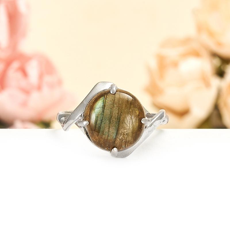 Кольцо лабрадор  (серебро 925 пр.) размер 19,5