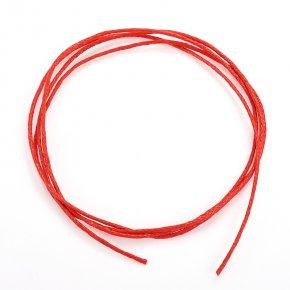 Шнурок красный 70 см