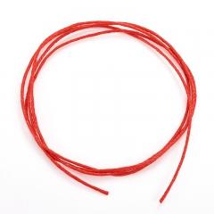 Шнурок (красный) 70 см (текстиль)