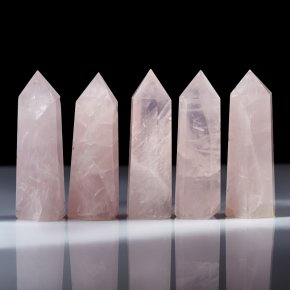 Кристалл розовый кварц Бразилия 7-8 см (1 шт)