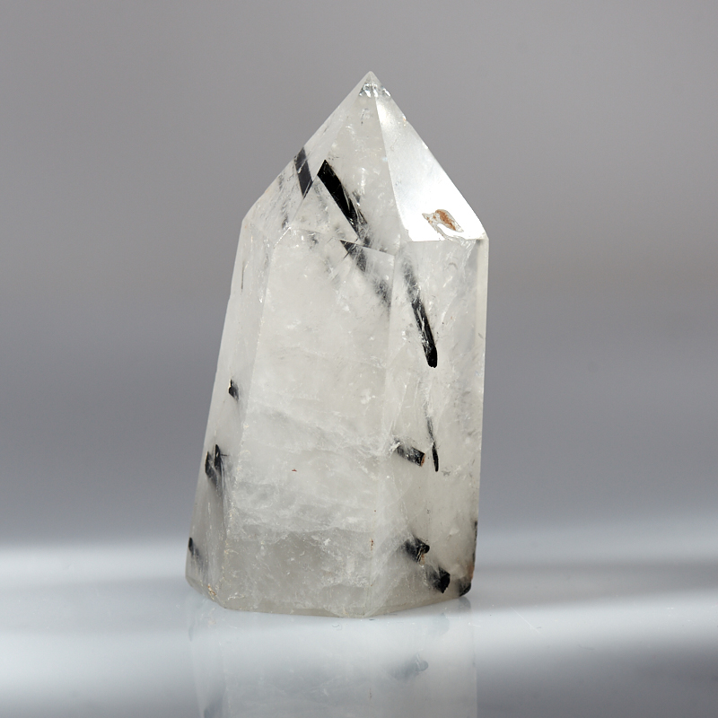 все цены на Кристалл кварц с турмалином (шерл) S онлайн