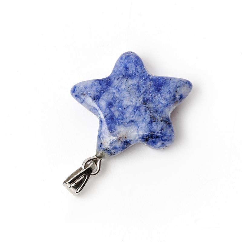 Кулон содалит Бразилия звезда 2,5-3 см
