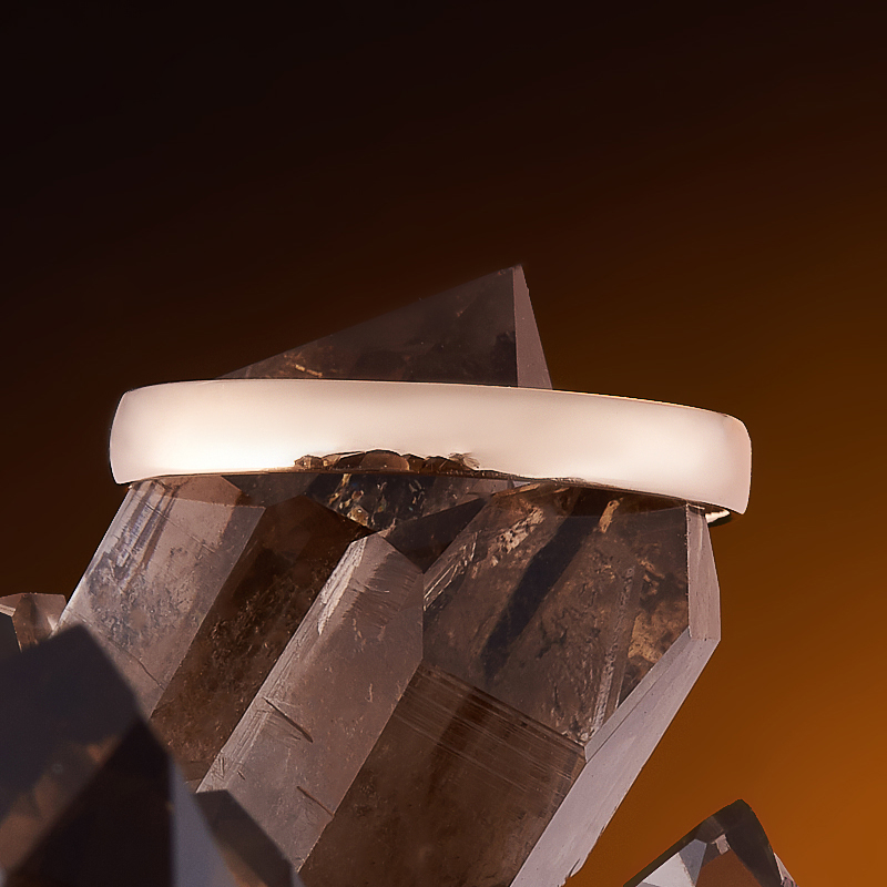 Кольцо бриллиант Россия огранка (обручальное) (золото 585 пр.) размер 19,5
