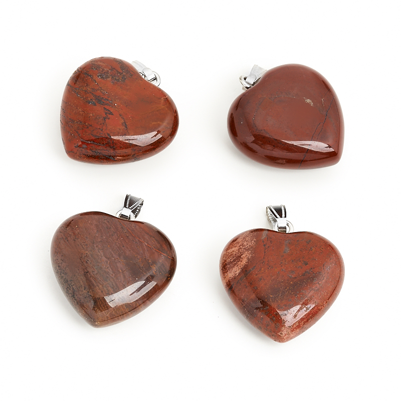 Кулон яшма красная сердечко (биж. сплав) 4 см кулон яшма красная трикветр биж сплав 4 4 5 см